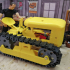 Oliver Cletrac inspired RC chain tractor image