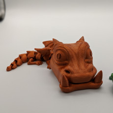 Picture of print of Phone Eater Baby Dragon