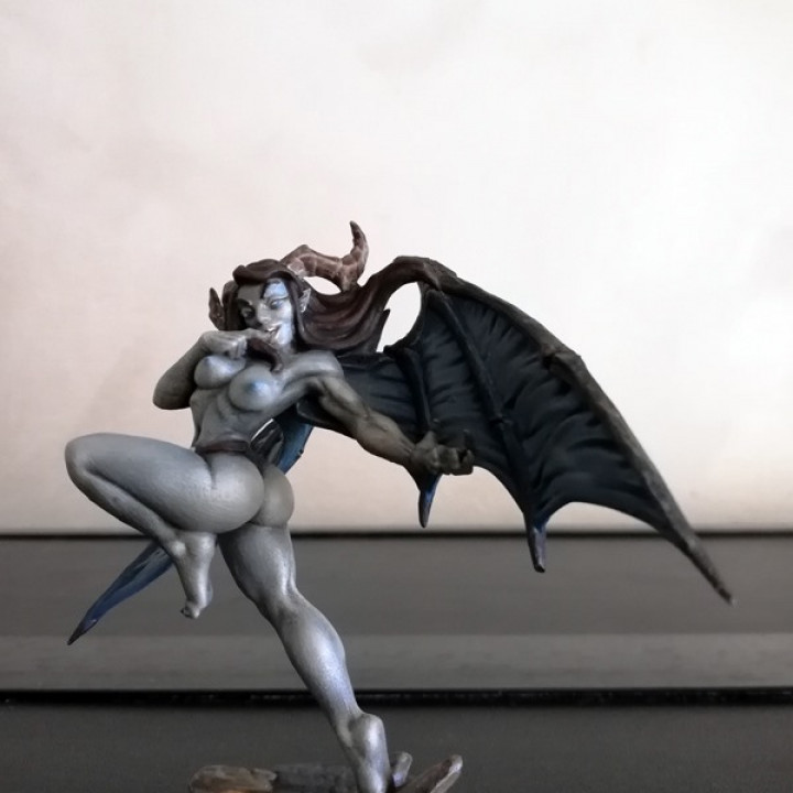 Aya - Lust Demon (Fantasy Pin-Up)