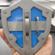 Picture of print of The Hylian Shield (The Legend of Zelda)