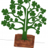 Saint Patrick's Day Clover Tree image