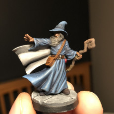 Picture of print of Amlund Maegon - Wizard - 32mm - DnD -