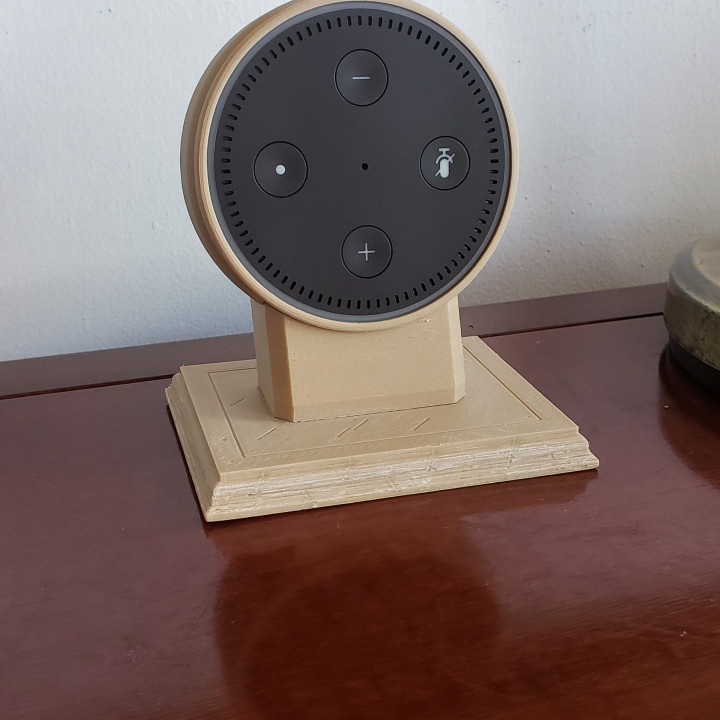 Alexa Echo wood holder