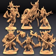 Abyss Demons (Gruntlings and Guardians)  - 6 Modular