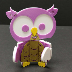 Flexi Articulated Owl