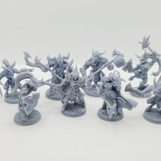 Picture of print of COMPLETE Abyss Demons (presupported)