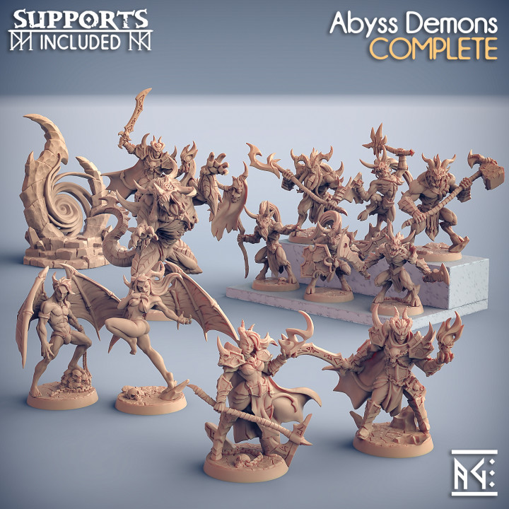 COMPLETE Abyss Demons (presupported)