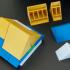 Montini Building Bricks Roof Pieces (Lego Compatible) image
