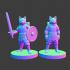 "Dogfolk Warrior ""Kuro"" image"