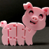 Flexi Articulated Pig image