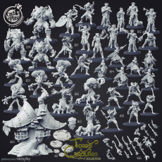 Forest Creatures (Pre-Supported Bundle)