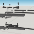 M24 sniper rifle - scale 1/4 image