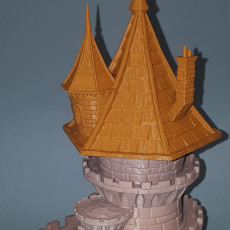 Picture of print of FATES END - DICE TOWER - FREE WIZARD TOWER!