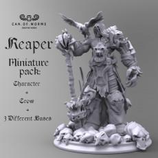 Grim Reaper 50mm scale miniature