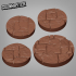Ancient Ruin Bases - 25mm and 35mm image