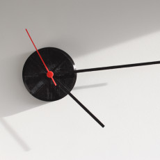 Minimalistic Ikea clock