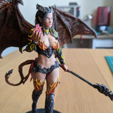 Picture of print of Succubus