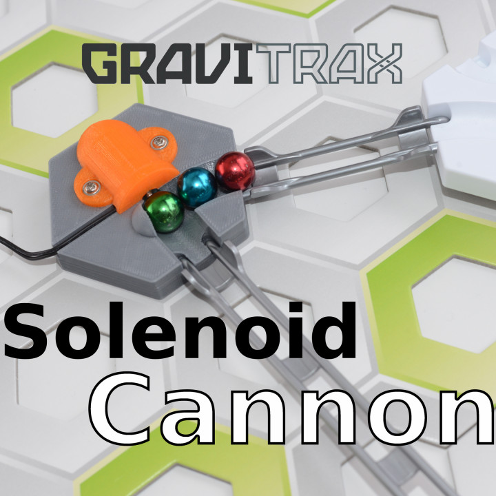 Gravitrax Solenoid Cannon
