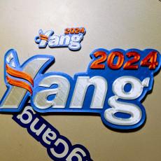 Andrew Yang 2024 Logo 6  Magnet