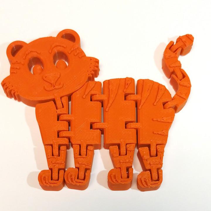 Flexi Articulated Tiger