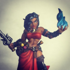 Picture of print of Sony Jonà - Sorceress Heroine (Troubles in Taverns)