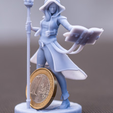 Picture of print of Sorceress