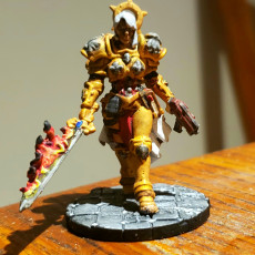 Picture of print of Justine (Wargame Scale)