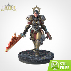 Justine (Wargame Scale)