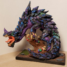 Picture of print of Delani - Depths Dragon