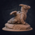Desert Burrower Dragon - Presupported image