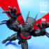 BATMAN BEYOND ALTERNATE PELVIS ( non-drop down) image
