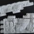 Montini Lion Wall Set (Lego Compatible) image