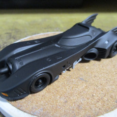 Picture of print of 1989 Batmobile