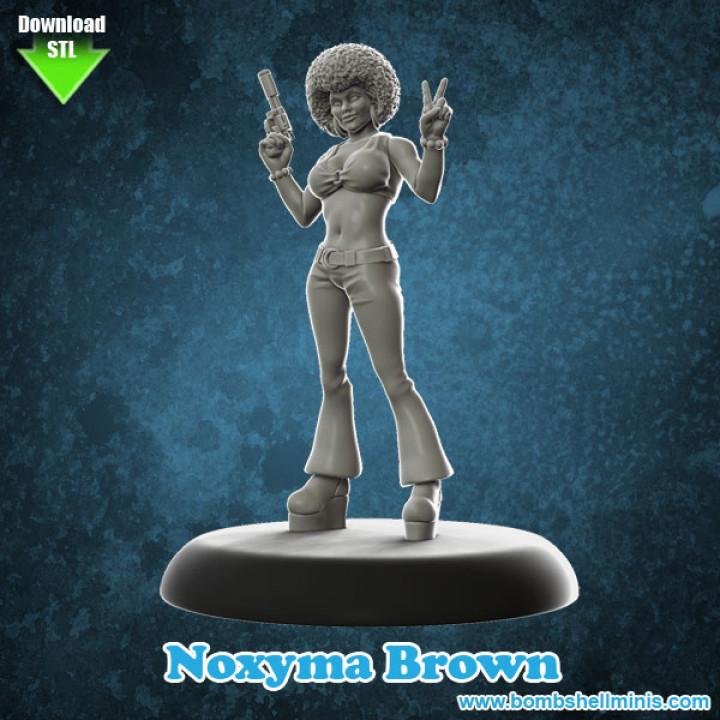 """Noxima """"Noxy"""" Brown"""