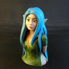 Elven girl bust