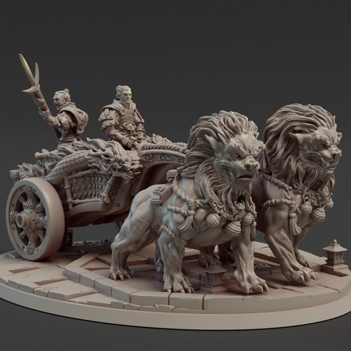 Dragon Empire Chariot