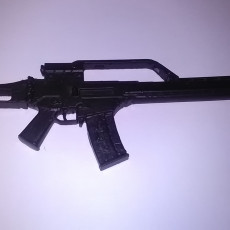 Picture of print of G36E rifle - scale 1/4