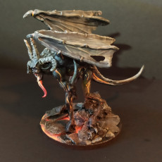 Picture of print of Dweller in the dark (demon) from the lord of the ring, adapted to table top game (28mm)