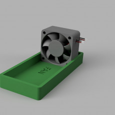 40mm fan holder