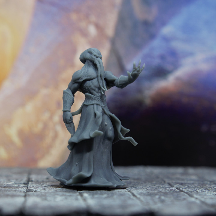 Mind Flayer / Illithid - Tabletop Miniature