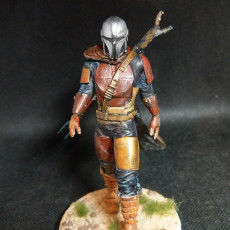 Picture of print of Mandalorian Fan art
