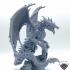 Vile Steel Dragon (Gargantuan size) image