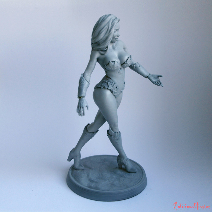 Poison Ivy Fanart Collectible