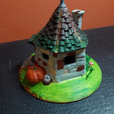 Picture of print of Hagrid's Hut - fan art model