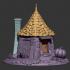 Hagrid's Hut - fan art model image