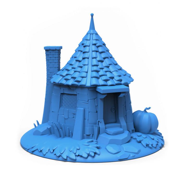 Hagrid's Hut - fan art model