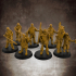 The City Watch - 32mm scale miniatures bundle image