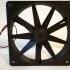 standard 120mm fan with two blade designs image