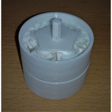 One-piece (no assembly) stackable planetary gearbox