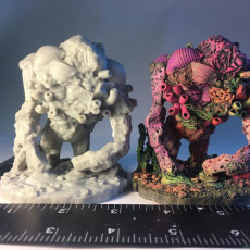 Coral Golem for 28mm Fantasy Tabletop Games and RPGs